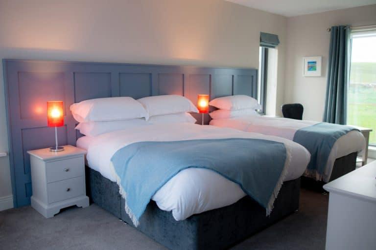 Bedroom at Sheedy's of Doolin Accommodation