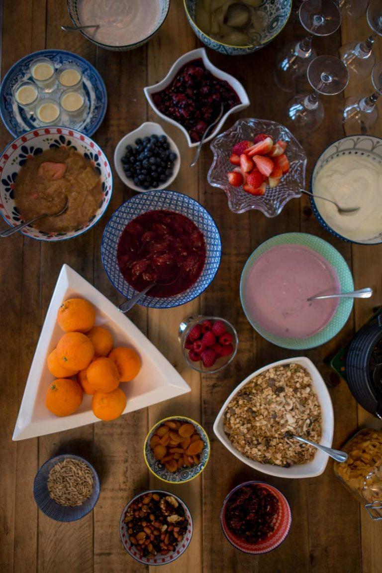 Breakfast at Sheedy's of Doolin Accommodation