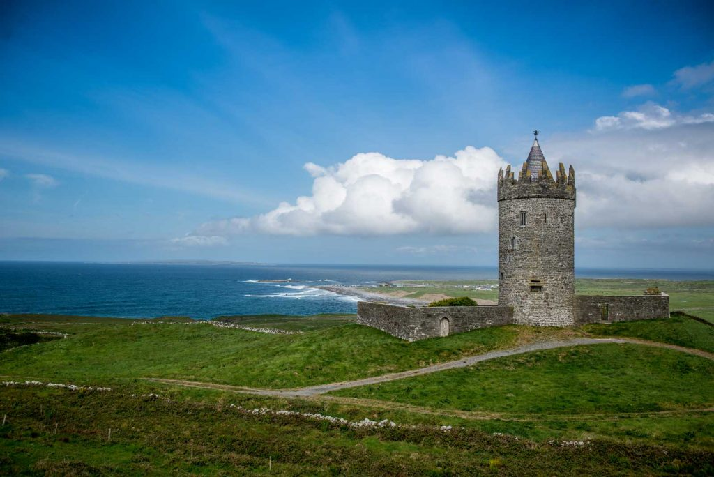 Doolin Tower near Sheedys Accommodation