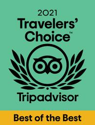 Tripadvisor Traveler's Choice Best of the Best 2021