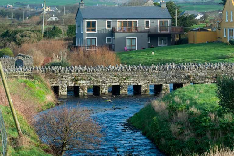 View of Doolin River, Clare